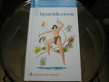 Tarzan delle scimmie Edgar Rice Burroughs Biblioteca dei ragazzi