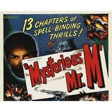 The Mysterious Mr. M - Cliffhanger Serial Movie DVD Frank Richard Martin Pamela