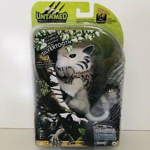 Untamed Silvertooth White Sabertooth Tiger BRAND NEW
