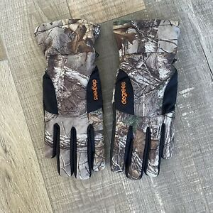 REALTREE Xtra Lightweight Gloves Men M Camo Hunting Insulated Touch Screen