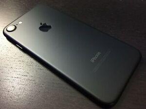 New *UNOPENDED* Apple iPhone 7 GLOBAL Unlocked Smartphone/128GB/BLACK