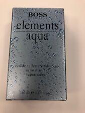 Hugo Boss Elements Aqua Cologne 3.3 / 3.4 100 ml Eau de Toilette EDT Spray Men