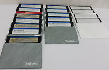 "Lot of WORD PERFECT 5.25"" Floppy Disks Software Diskettes Graphics Spell Art Etc"