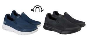 Skechers Men's Go Walk Shoe 5 Apprize Black ~ Blue  (Pick Size and Color)