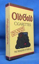 1930s Vintage Original OLD GOLD CIGARETTES Sample TRIAL PACK Advertising