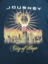 JOURNEY City Of Hope Eclipse Tour 2012 2-Sided Concert T-Shirt Adult Size small