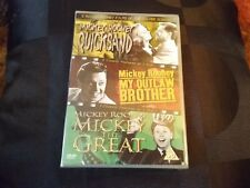 3 Classic Mickey Rooney Films Of The Silver Screen - Quicksand / My Outlaw Broth
