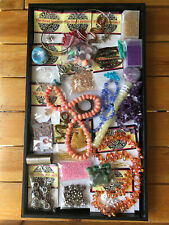 Huge Lot Beads, Crystal, Stone, Spacers, Plated, Findings, Seed, Mix