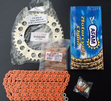 AFAM pezzo per catena KTM 950 Adventure,16-42-118,arancione,Kit catena,LC8,Alu,