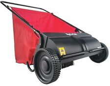 Push Lawn Sweeper, Agri-Fab 26 in Leaf Manual Yard Clean Up Grass Lawn Clippings
