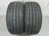 2x Sommerreifen Pirelli Pzero 245/35 ZR20 91Y N0 Kennung / DOT 3715 / 7,0-7,2 mm