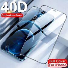 PELLICOLA VETRO TEMPERATO PER APPLE IPHONE 12/11/X/S/XR/PRO/MAX 9D TOTALE