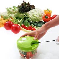 New Multifunction Speedy Chopper Fruit Vegetable Crusher Onion Cutter Shredder