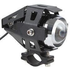 Zusatzscheinwerfer Motorrad LED CREE 3000LM U5 125W Scheinwerfer Fernlicht Lampe