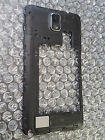 Samsung Galaxy Note 3 Back GSM Midframe Housing Plate Bezel Black Loud Speaker ~