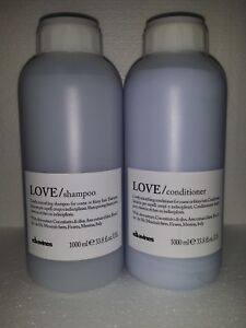 Davines LOVE SMOOTHING Shampoo and Conditioner liters Set **