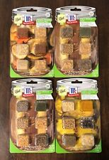 McCormick Lot of 4 Pickle Mix Seasonings Dill, Asian Ginger, Bread & Butter NEW