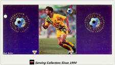 1994 Futera Australia Soccer Cards Best Of Both World BW4 Ned Zelic-RARE