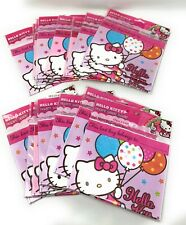 Hello Kitty Wholesale Lot Party Favor 8 Pack Loot Bags - Lot of 18