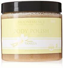 New Moonessence Body Polish Organic Sugar Scrub Vanilla 16 oz Wo54