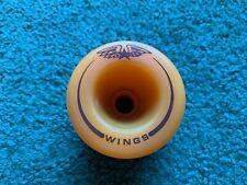 Vintage Wings Orange Skateboard Wheel