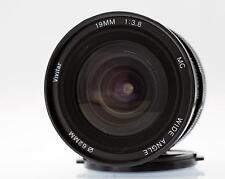 Canon FD FIT. 19mm f3.8 MC Grandangolo da Vivitar in ottime condizioni a fine