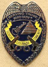 US Navy NACIC Investigator Challenge Coin AWOL Military Police