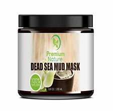 Dead Sea Mud Mask for Face and Body - 8.8 oz Melts Cellulite Treats Acne Strech