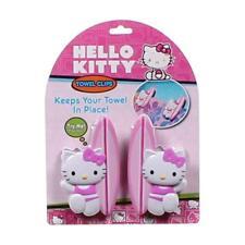 Boca Clips Towel Clips Hello Kitty Set of 2 Clips Nip