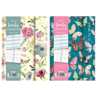 2020 Week to View A5 Family Organiser Diary Planner Magnetic Closure Cover 2093