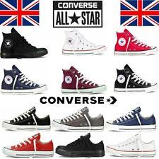 Converse All Star Mens Womens High Hi Tops Unisex Chuck Taylor Trainers Pumps UK