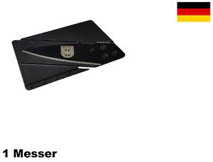 ★ Polizei Kreditkartenmesser Bundeswehr Marine Luftwaffe  SWAT SEK Navy Seals ★