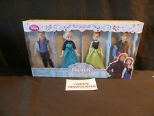 Disney Store Authentic USA Frozen Mini Doll set Hans Elsa Anna & Kristoff
