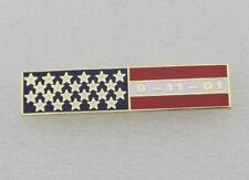 Uniform Police Service Citation Bar 09-11-01 Bar Lapel Pin