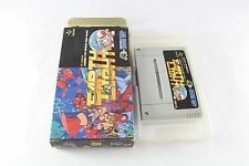 Snes Super Nintendo Famicom Earth Light Luna Strike Game JAP NTSC