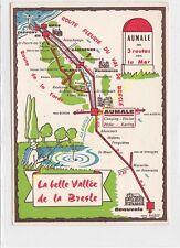 CP CARTE ROUTIERE 76 Belle Vallée de la Bresle S.I. AUMALE Camping Piscine Pêche