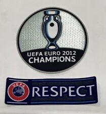 Euro 2012 European Championship Spain Respect Sleeve Espana jersey Patch Badge