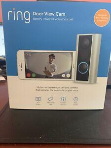 Ring Door View Cam Smart video doorbell, HD video, 2-way talk