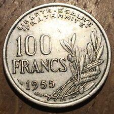 PIECE DE 100 FRANCS COCHET 1955 B (316)