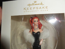 "HALLMARK KEEPSAKE ORNAMENT CLUB ""THE SIREN  BARBIE"" 2009 NEVER BEEN OUT OF BOX"