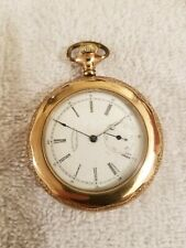 Watch 11J Waltham Gold Pocket