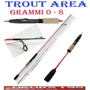 Canna Spinning Trout Area Rock Fishing Mare Forward Ii 180 Cm 0-8 Gr Ultra Light