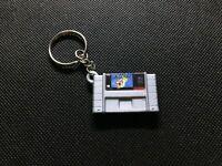 Snes Super Mario World 3D Printed Cartridge Keychain Super Nintendo