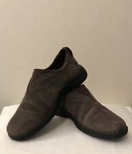 1ada8bdecb7d Route 66 Women s Brown Suede Loafer Slip On Size 7