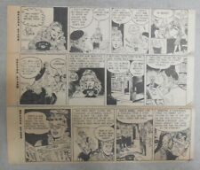 """(284) """"Brenda Starr"""" by Dale Messick from 1947 Size: 3 x 8 inches"""