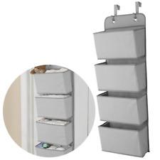 Multipurpose Over The Door Storage Caddy Home Organizer Hanging Basket Toy Shelf
