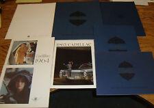 Original 1963 - 1976 Cadillac Sales Brochure Lot of 27 63 64 65 67 68 69 70 71