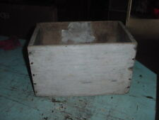 VINTAGE SHIPPING WOOD AMMO BOX CHEST 14x9x9 CRATE SUPER 2 3/4 LONG RANGE LOAD