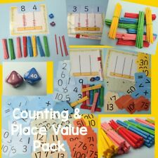 Home Learning KS1 Ages 4-7 Years Counting & Place Value Activity Pack