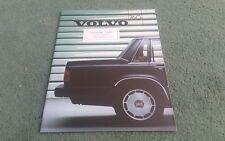 1986 VOLVO 760 GLE PETROL / TURBO / TURBO DIESEL UK BROCHURE Riverside Doncaster